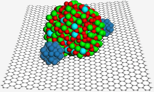 Carbon's most recently discovered allotrope, graphene.