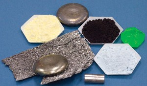 Rare earth metals and salts.
