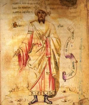 Geber, Jabir ibn Hayyan.