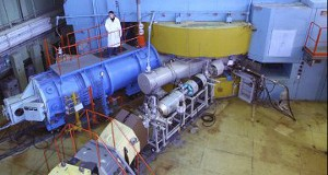 The cyclotron at Dubna
