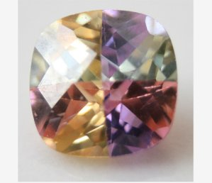 Multicolored Cubic Zirconia