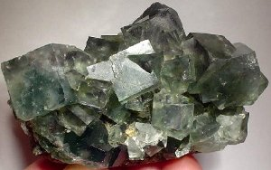 Fluorite in light