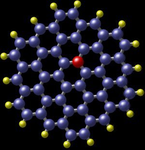Polycyclic aromatic hydrocarbon with nitrogen