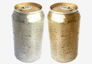 Aluminum cans with manganese