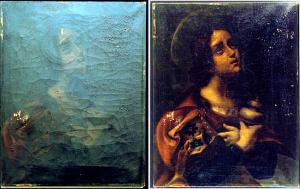 Oxygen in art restoration