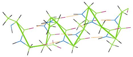 h-bonding-alpha-helix