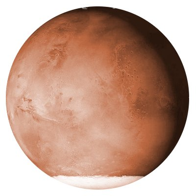 Mars' Southern Polar Cap