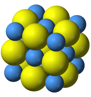 sodium chloride unit cell (b)